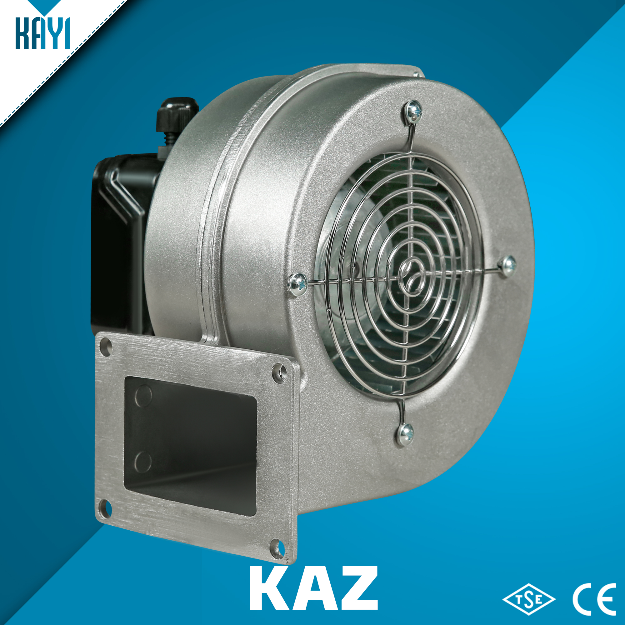 KAZ - Single Inlet Centrifugal Fan With Aluminium Body